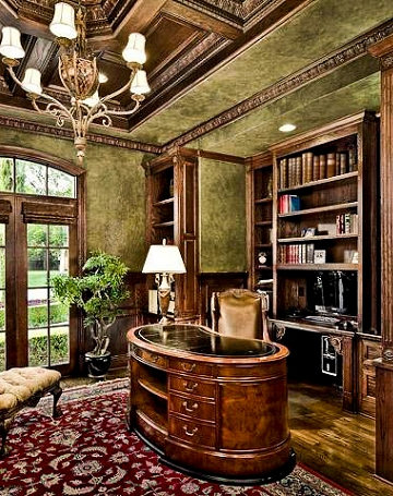 Formal Study Dallas, Fort Worth Luxury Study, Library's Austin, Home Offices Dallas, Million Dollar Studies San Antonio